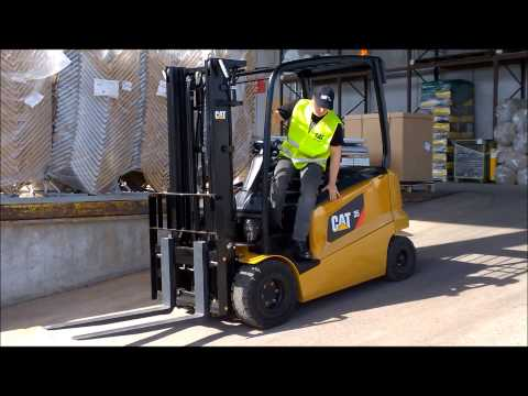 Hill Hold - Cat® 80V Electric Lift Truck - 2.5 - 3.5 Tonnes