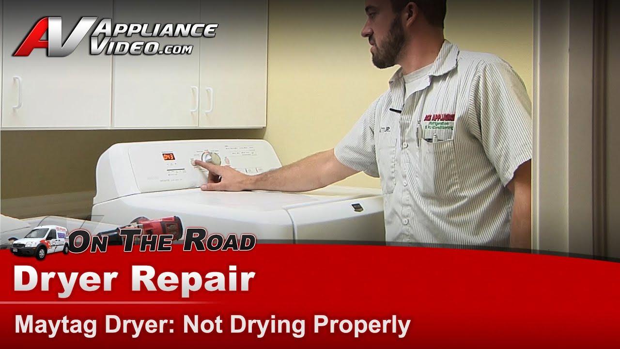 Dryer Repair Amp Diagnostic Not Drying Maytag Whirlpool