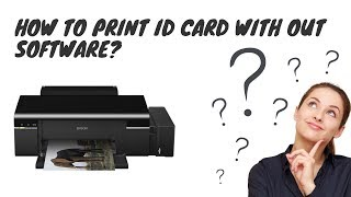 PVC ID Card Printing Guide for Epson L805 (Free Template) - Sal