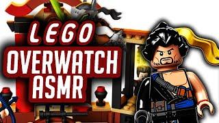 Jazz Man ASMR   No Talking   LEGO Overwatch Hanzo VS Genji