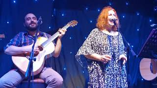 Afentoula Razeli - Το καφεδάκι - Αφεντούλα Ραζέλη & Τρίο Κατάρα live 2020 (Το μπαράκι της Διδότου)