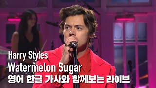 [한글자막라이브] Harry Styles - Watermelon Sugar