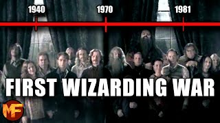 The First Wizarding War: Entire Timeline Explained (Harry Potter Breakdown)