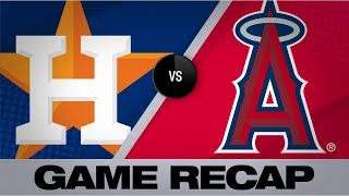 Bregman, Astros earn split with 6-2 victory | Astros-Angels Game Highlights 7/18/19