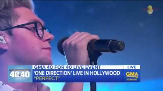 One Direction - Perfect (live at GMA)