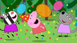 Peppa Pig Full Episodes | Wendy Wolf's Birthday | Cartoons for Children