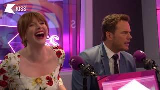 Bryce Dallas Howard & Chris Pratt talk Jurassic World and Training like The Rock! 🌋 | KISS Breakfast