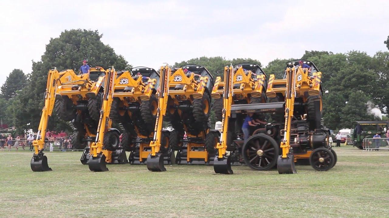 La danse des tracteurs