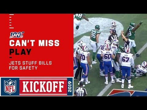 Jets Absolutely Stuff Bills for Goal Line Safety