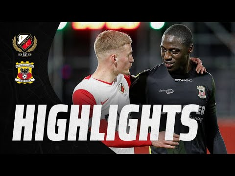 HIGHLIGHTS | Beloften onderuit tegen Jacob Mulenga's Eagles