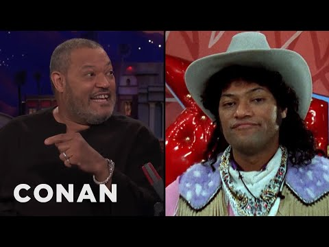 "Laurence Fishburne On Playing Cowboy Curtis In ""Pee-Wee's Playhouse"""