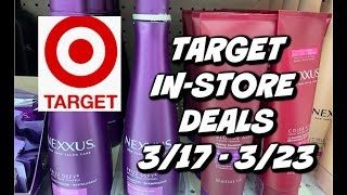 TARGET IN-STORE DEALS 3/17 - 3/23 | PERSONAL CARE & GROCERY DEALS!