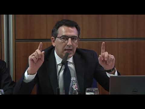 Mauro De Fabritiis (partner Mag Consulenti associati) nel suo intervento al convegno sull'online