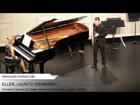 Dinant 2014 - Eller, Lauritz - Concerto Capriccio by Gregori Markovich Kalinkovich