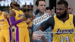 NBA 2k19 MyCAREER - HATERS WILL BLAME LEBRON FOR THIS! 88% FG! Ep.16