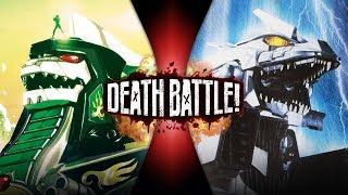 Dragonzord VS Mechagodzilla (Power Rangers VS Godzilla)   DEATH BATTLE!