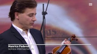 Stradivarius vs Modern violins Manrico Padovani's Statement TSI swiss television interview ITA