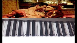 Main Tera Boyfriend Tu Meri Girlfriend On Keyboard~ Keyboard Piano Cover~Easy Notes Slowly Played .