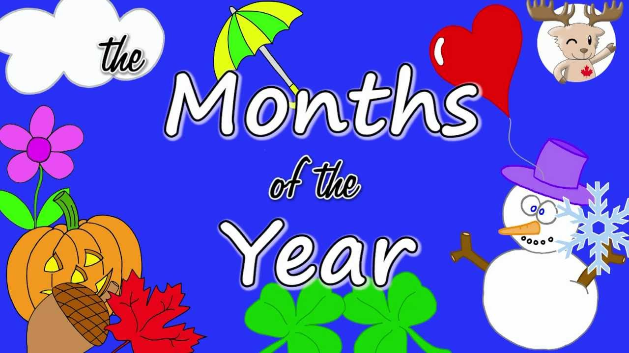 The Months of the Year Song - YouTube