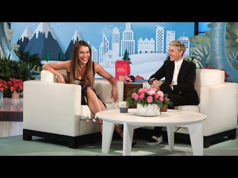 Ellen Teaches Sofia Vergara an English Word of the Day