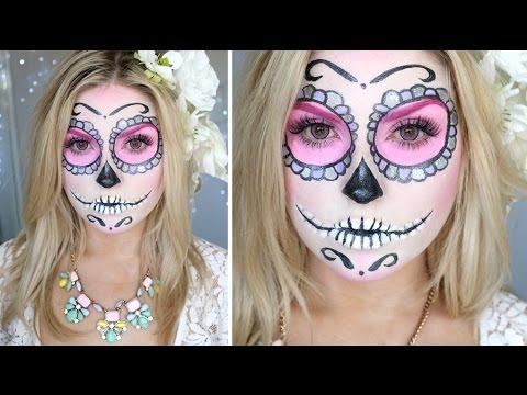 Baixar Sugar Skull Makeup Tutorial ♡ Shaaanxo