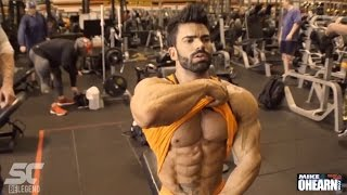 Sergi Constance & Mike O'Hearn CHEST workout at Golds Gym Venice LA