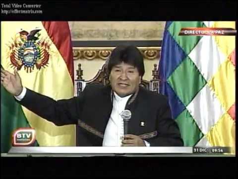 Presidente Evo Morales habla de la Bolivia del 2015