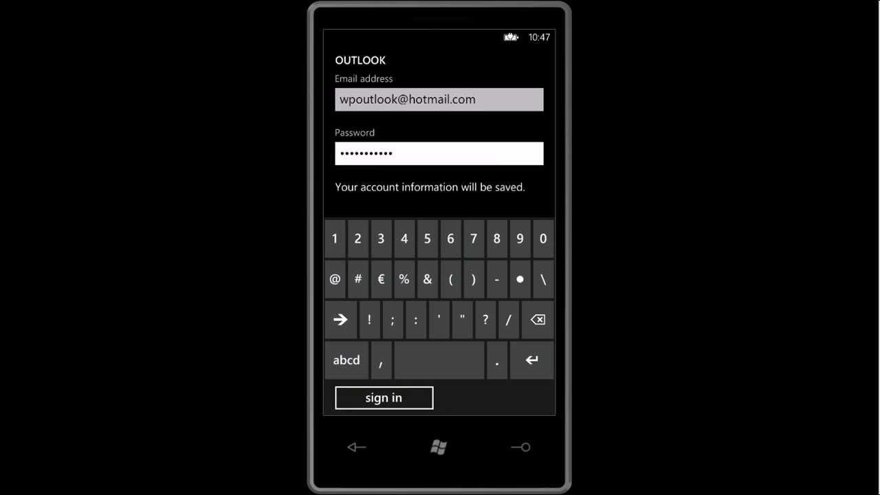 sync google calendar windows phone 8