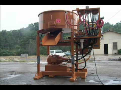 Blastcrete Pan-Mixer - Reliable Hydrostatic Pan Mixer