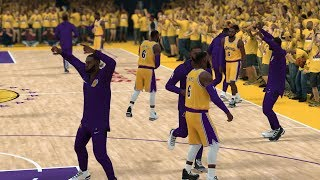 Can A Team Of LeBron James Go 82-0 In NBA 2K19?