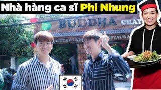 Phản ứng người Hàn lần đầu ăn chay ở quán Phi Nhung???