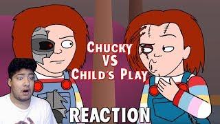 Chucky VS Child's Play (Animated Parody) REACTION