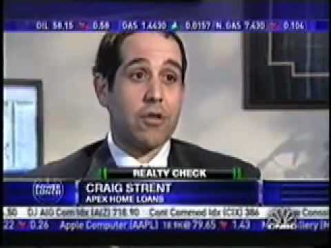 CNBC Interviews Craig Strent  on High Foreclosure Rates