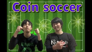 Funny soccer coin Football in Japan