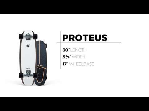 Video CARVER Surfskate CX PROTEUS BASALT 30''