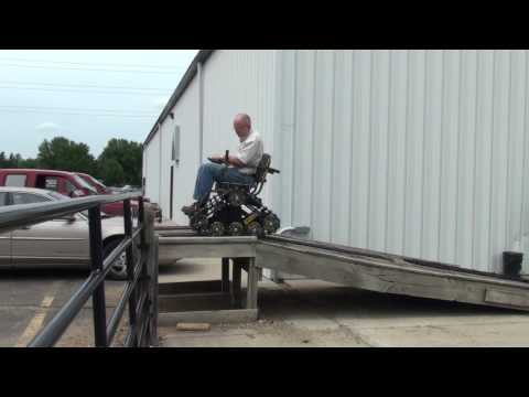 ACTION TRACKCHAIR RAMP TEST