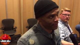 Russell Westbrook Grabs A Triple Double But Thinks He Played Sh*tty. HoopJab NBA