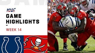 Colts vs. Buccaneers Week 14 Highlights | NFL 2019