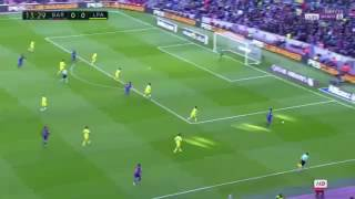 FC Barcelona Vs Las Palmas 1-0 2017/1/14 first half -