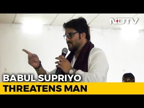 Union Minister threatens to break man's leg in public