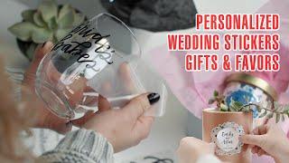 Wedding DIY Sticker Projects