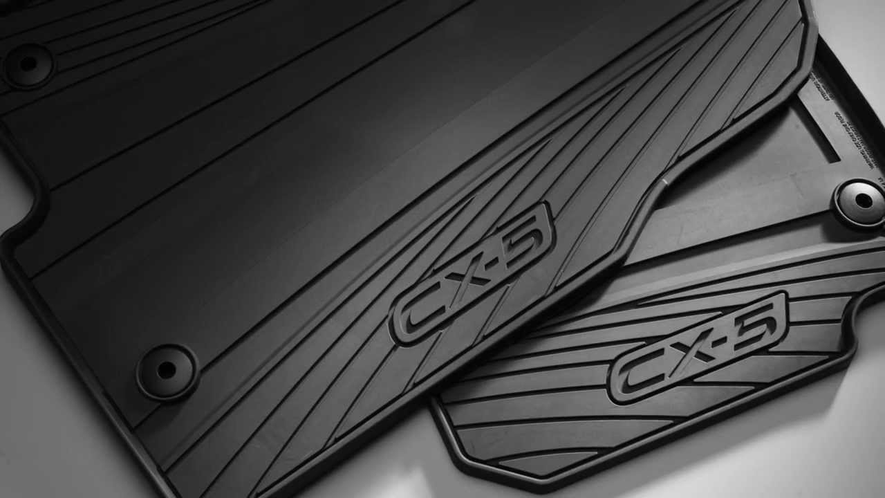 2013 2014 2015 Mazda Cx 5 All Weather Floor Mats