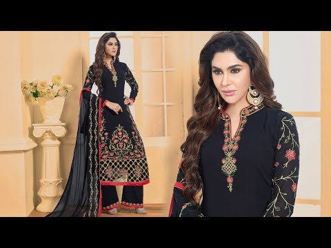 Pakistani Dresses Designs: Latest Pakistani Suits & Designer Pakistani Dress With Palazzo Salwars