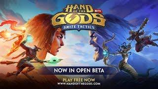 Hand of the Gods: SMITE Tactics - Open Beta Trailer