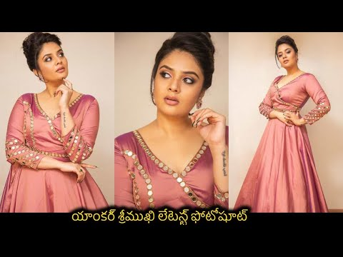 Anchor Sreemukhi creates a buzz on social media with her latest looks