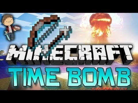 Minecraft: HEADSHOT! Time Bomb Mini-Game W/Mitch & Jerome! - Smashpipe Games