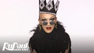 Drag Makeup Tutorial: Sasha Velour's Fabergé Egg Look   RuPaul's Drag Race Season 9   Now on VH1