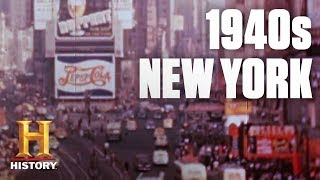 Flashback: A Tour of 1940s New York City | History