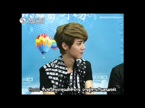 [Thai Sub] 120613 iFeng Yinyue Jia Interview - EXO-M [Part 2-2]