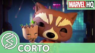 El Rescate de Groot | Marvel Funko